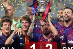 Barca đoạt Siêu cúp TBN, Valverde nói về 'điệp vụ bất khả thi'