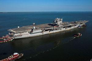 Sợ Trung Quốc, Mỹ bỏ hẳn tỷ USD 'rã xác' tàu sân bay
