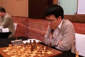 Lê Quang Liêm thắng ván 6, cải thiện thứ hạng ở giải cờ vua quốc tế UAE