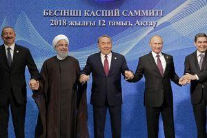 5 nước ký vào thỏa thuận lịch sử 'chia sẻ' Biển Caspi