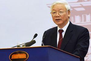 Tổng bí thư Nguyễn Phú Trọng: 'Chính trị cường quyền đang quay trở lại mạnh hơn'