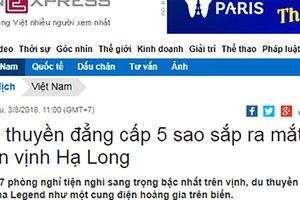 Thương hiệu du lịch vịnh Hạ Long đang bị làm giả