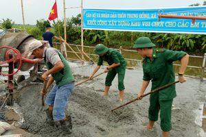 Tuổi trẻ lực lượng vũ trang tỉnh Thái Bình: Sôi nổi các hoạt động tình nguyện hè