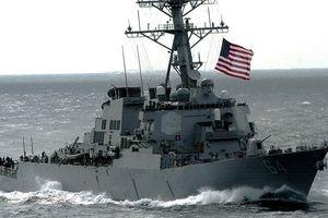 Mỹ đưa tàu khu trục tên lửa xuống Biển Đen thách thức Nga
