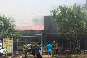 Thanh Hóa: Cháy chợ huyện gây thiệt hại hơn 1 tỷ đồng