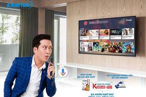 Ra mắt tính năng Voice Search trên Smart TV Asanzo