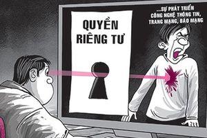 Quyền riêng tư phải được tôn trọng