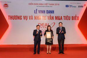 Vietcombank được vinh danh 'Thương vụ tiêu biểu nhất thập kỷ'