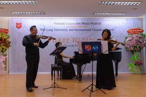 Thăng hoa cùng Đêm nhạc Thính phòng Quốc tế 'Three to Tango'