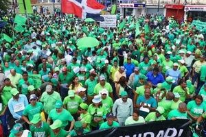 Xuống đường chống tham nhũng tại Cộng hòa Dominica