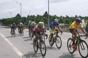 Chặng 3 giải xe đạp đồng bằng sông Cửu Long: Chủ nhà giành lại áo vàng
