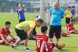 Sốc: Olympic Việt Nam sẽ tập ở sân dành cho công nhân