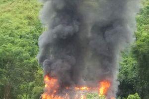 Điện Biên: Cháy nhà sàn thiệt hại gần 1 tỷ đồng