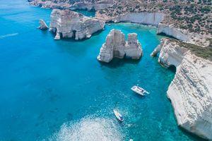 Đảo Milos- hòn đảo xanh của Hy Lạp