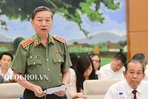 Bộ trưởng Tô Lâm trả lời chất vấn về gian lận điểm thi THPT Quốc gia