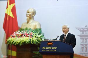 'Xây dựng tâm thế mới của Việt Nam trong hoạt động đối ngoại'