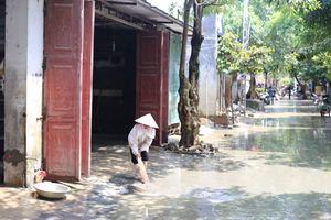Huyện Chương Mỹ: Cơ bản hoàn thành vệ sinh môi trường sau mưa lũ