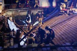 Tây Ban Nha: Sập cầu tại lễ hội âm nhạc, 266 người bị thương