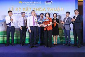 Vietnam Airlines và Vinamilk bắt tay tạo lợi ích lớn cho người Việt