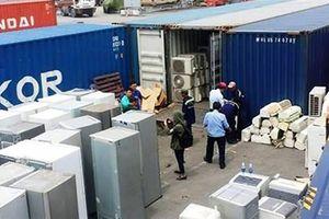 Gần 450 container phế liệu vô chủ: Lần theo đường tiền đi