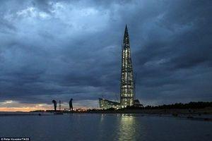 Chiêm ngưỡng tòa nhà cao nhất châu Âu