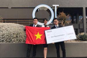 Chặng đường vô địch quốc tế của ba học sinh Việt