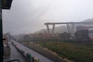 Cầu đường bộ cao tốc đổ sập tại Italia, ít nhất 18 người thương vong