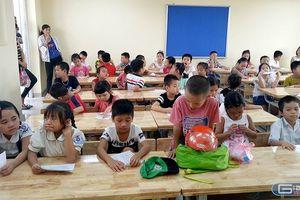 Sở Giáo dục Hà Nội thừa nhận một số trường sĩ số lên tới 60 học sinh/lớp