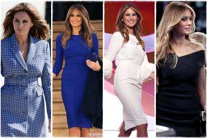 Phong cách thời trang 'đệ nhất phu nhân' của bà Melania Trump
