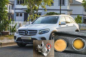 Xế sang Mercedes GLC bị lỗi: hãng xe đề xuất giải pháp khắc phục