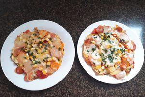 Tuyệt chiêu làm pizza từ khoai tây đơn giản không cần lò vi sóng