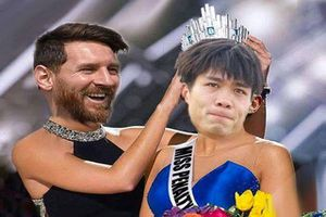 Hai lần đá trượt, dân mạng chế ảnh trao luôn vương miện 'Miss Penalty' của Messi cho Công Phượng