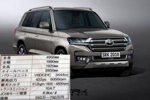 Toyota Land Cruiser 2020 sẽ trông như thế nào?