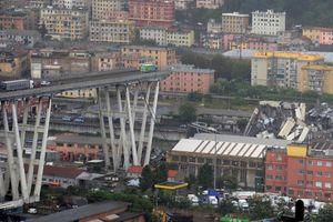Sập cầu cao tốc tại Italia, nhiều người thiệt mạng