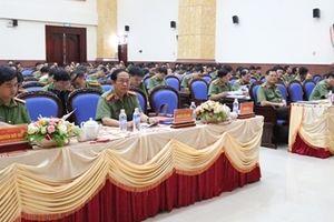 Công an tỉnh Nghệ An sơ kết công tác 6 tháng đầu năm
