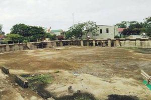 Thanh Hóa: Công trình sửa chữa thuyền, bè chục tỷ đồng bị bỏ hoang