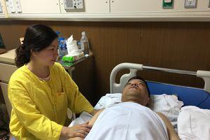 Vụ 'Hot girl' tông Cảnh sát khi đang làm nhiệm vụ: Một Đại úy phải phẫu thuật đóng đinh vào chân
