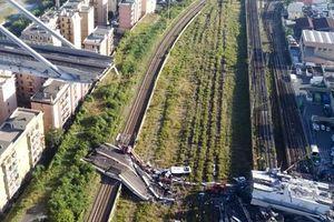 Thảm họa sập cầu cao tốc ở Ý khiến ít nhất 35 người thiệt mạng