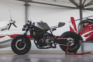 Cận cảnh mẫu độ cafe - streetfighter Yamaha TRX850 từ Nga