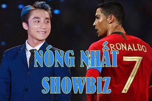 Nóng nhất showbiz: Sơn Tùng MTP sánh ngang Ronaldo, Hòa Minzy sang Indonesia cổ vũ Công Phượng