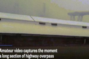 Ý: Cảnh sập cầu cao tốc 'như tận thế' khiến hàng chục người thiệt mạng