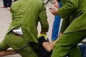 Nam thanh niên say rượu, dùng dao cắt cổ đại úy công an