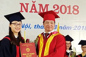 273 sinh viên Học viện Quản lý Giáo dục nhận bằng cử nhân