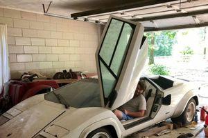 Mỹ: Lamborghini Countach bản giới hạn được tìm thấy trong nhà kho sau 20 năm bị 'bỏ xó'