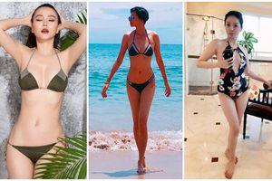 U40 Lệ Quyên, Ngô Thanh Vân, Dương Yến Ngọc diện bikini: Nhiều gái trẻ phải 'nể' vì quá nóng bỏng