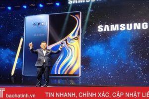 Samsung giới thiệu Galaxy Note 9 tại Việt Nam, giá thấp nhất 22,9 triệu đồng