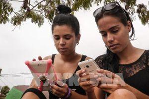 Thử nghiệm dịch vụ 3G miễn phí trên điện thoại di động tại Cuba