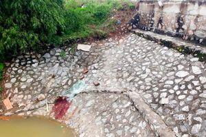 Thái Bình: Xe tải mất lái lật ngửa, 4 người bị thương nặng