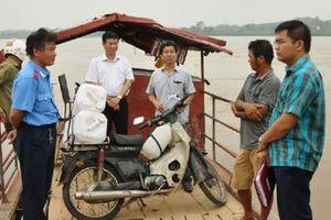 Phú Thọ: Phạt nghiêm vi phạm giao thông thủy