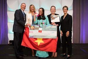 Lần đầu tiên Việt Nam giành Huy chương thiết kế đồ họa thế giới 2018